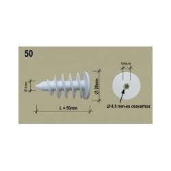 50 mm Polisztirol dübel