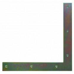 100*100*18*2mm L-összekötő