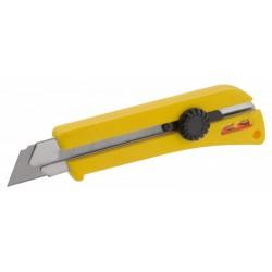 Fémbetétes csavaros tapétavágó kés 25mm