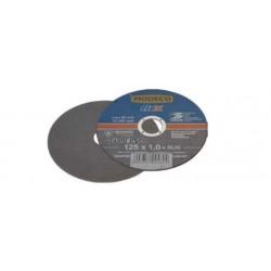 Vágókorong rozsdamentes acél 125x22x1 mm  Modeco