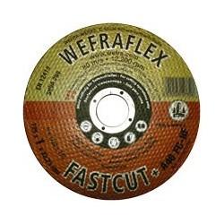 Vágókorong alu/inox Wefra 125x22x1 mm   T-A46FC