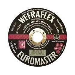 Vágókorong fém Wefra 178*22*2.5 mm   T-A30 egyenes