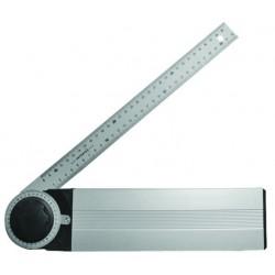 Asztalos szögmérő alumínium 350mm Modeco