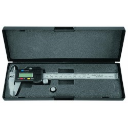 Tolómérő Inox digitális 150mm/0,01 Modeco
