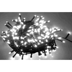 Karácsonyi Led fényfüzér 100db hideg fehér rizsszem leddel 11,9m