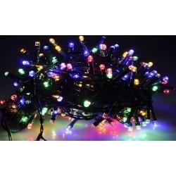 Karácsonyi Led fényfüzér 100db RGB rizsszem leddel 11,9m