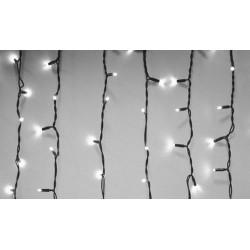 Karácsonyi Led függöny 1m*2m 10*20db hideg fehér leddel
