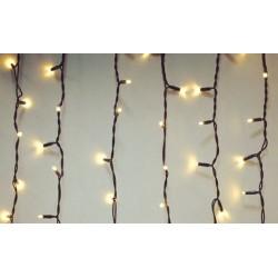 Karácsonyi Led függöny 1m*2m 10*20db meleg fehér leddel