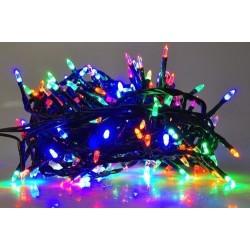 Karácsonyi Led füzér 200db kúp formájú multi color leddel