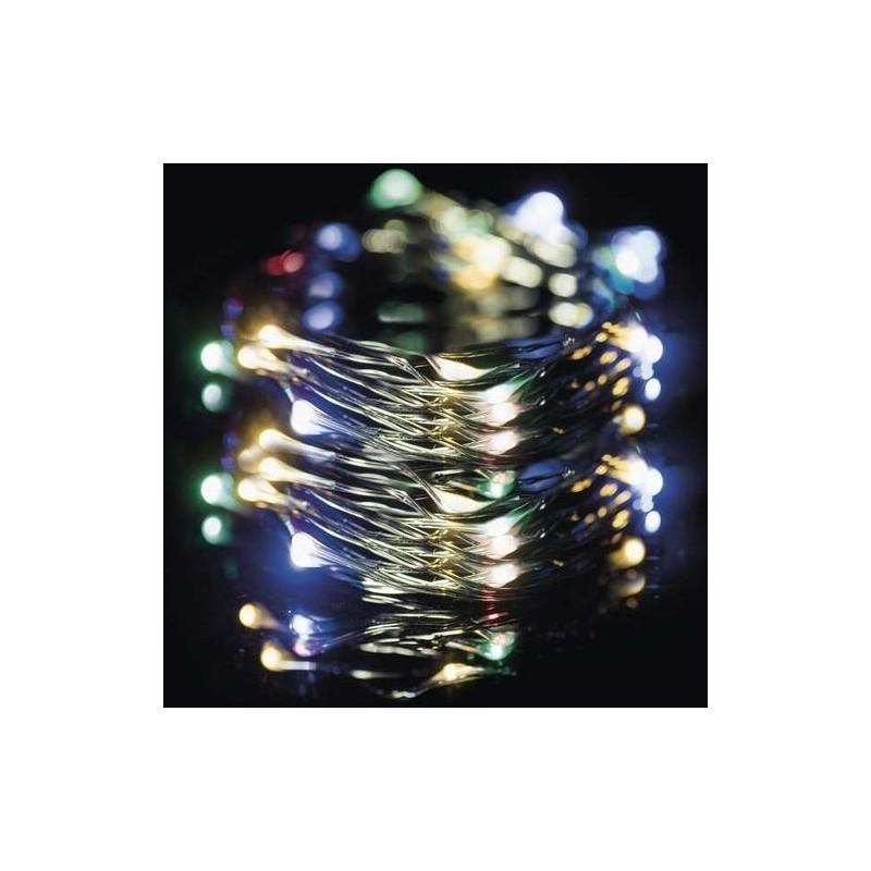 Karácsonyi Led füzér micro ledes 150db multi color leddel 15m