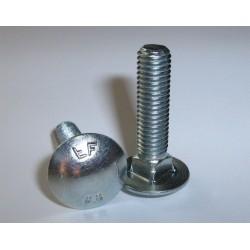 Kapupánt csavar 6x30 mm 8.8 Din603 1 db