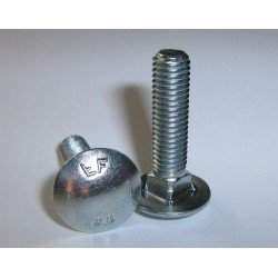 Kapupánt csavar 8x30 mm 8.8 Din603 1 db