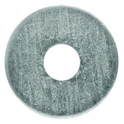 Alátét fakötésű M10/10.5x25x4 mm (vastag,lapos) horganyzott Din7349 1db